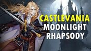 Castlevania Moonlight Rhapsody HD Gameplay and Playable Characters Preview