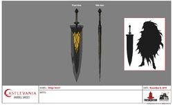 Striga's Sword Model Sheet