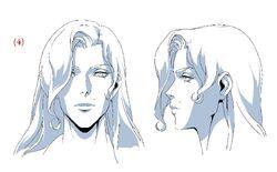 Saint Germain's Partner (Adventurer Lady) Head Model