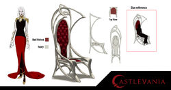 Carmilla's drawing room chairs by sean randolph