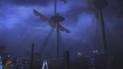 Captains ship cannons