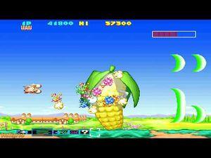 Sexy Parodius (PSP) - All Bosses (No Damage) HD 1080p 60FPS