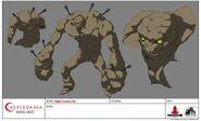 Golem (Night Creature Fist) Model Sheet