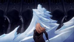 A vampire's frozen ghost