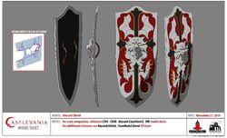 Alucard's Shield Model Sheet