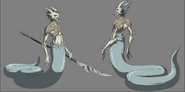 Isaac's Night Creature 2 Model Sheet