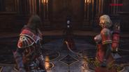 Gabriel and felicia encounter laura