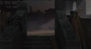 Castlevania Season 3 Background- Lisa's Burned House in Hell