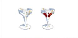Blood goblet model