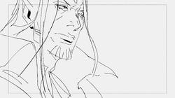 Castlevania Season 4 Episode 7 Storyboard (Varney Panel 1) by Sarah Stone