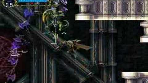 Symphony of the Night - Gaibon and Slogra (main encounter, Luck Mode)