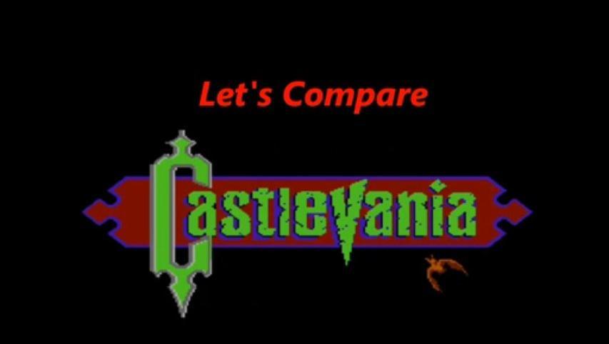 Let's Compare ( Castlevania )