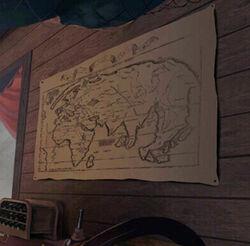 Captains map