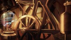 Draculas steam engine