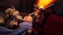 Defending trevor from death