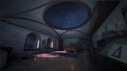 Castlevania Season 2 Background- Alucard's Childhood Room