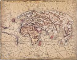 Orbis typus universalis - waldseemüller 1506 map