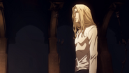 Alucard listens to trevor talk
