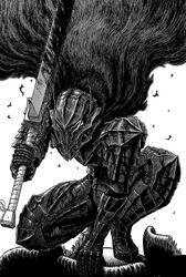 Guts in berserker armor