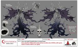 Death Mega Model Sheet