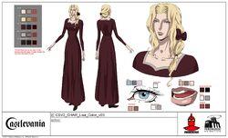 Lisa model sheet