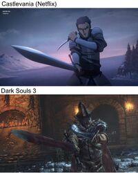 Castlevania (animated series) - Dark Souls III - 01