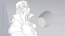 Castlevania Season 4 Episode 7 Storyboard (Varney Panel 3) by Sarah Stone