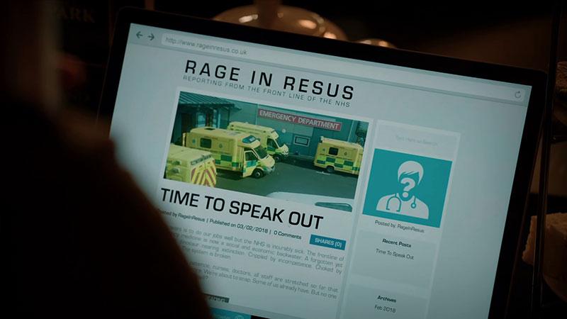 Rage in Resus