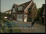 Sunday, Bloody Sunday