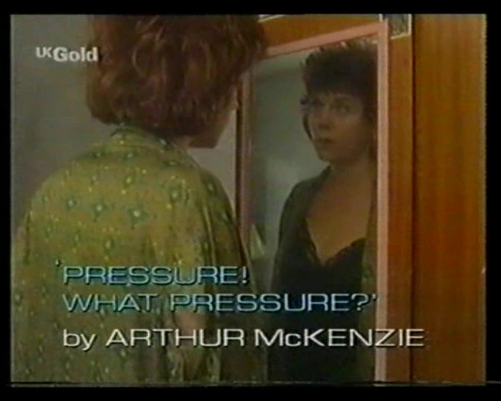 Pressure! What Pressure?