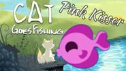 Pink kisser fish