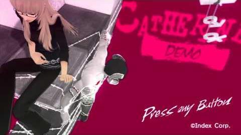 Catherine (DEMO) - Title Screen