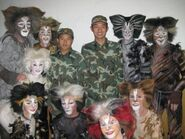 Group backstage Aus 2009