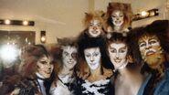 Backstage Tony Awards Broadway Cast 1983