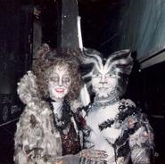 Griz Munk Theresa Pitt Mark Cassius Canadian Tour 1987