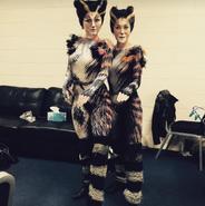 Cori Tant Emma Delmenico Ashleigh Hauschild Australia Tour 2015