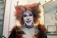 Bombalurina Marlene Danielle Bway backstage 2000 01