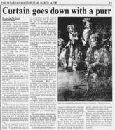 Toronto 1987 Mar 14th closing article (Windsor Star)
