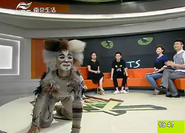 Bill Bailey tv interview Nanjing China 2013