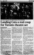Toronto 1986 April 5 article (National Post)