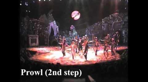 Jellicle Ball - choreographic sections