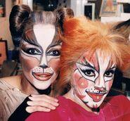 Cass Rumple Lyne Tremblay Lorena Cingolani Toronto 1985
