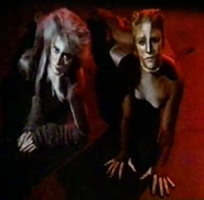 Cassandra and grey swing Bway 1984