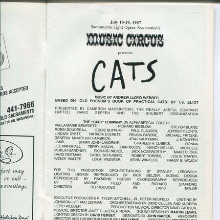 Us Tour 4 Cast List References Cats Musical Wiki Fandom