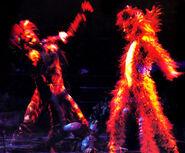 Macavity Munkustrap Aus Circus 2000 01