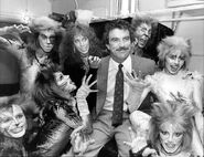 Tom Selleck Jillie Mack backstage Broadway 1983 03
