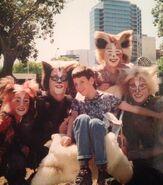 Tumble Plato Electra Quaxo Aus Circus Tour 1999