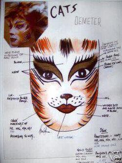 Makeup Designs References Cats