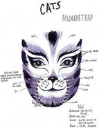 Munkustrap Makeup Design Karen Dawson 1