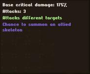 Info Necro Sword 'Blink'